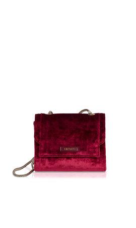 Inyati Éva Minibag Burgundy Velvet