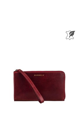 Burkely Edgy Eden Wallet L Cherry Rood