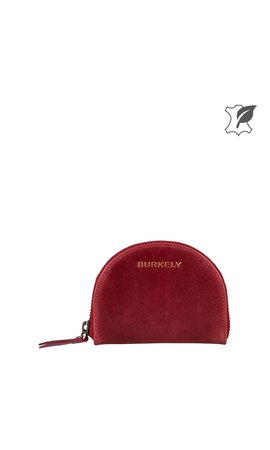 Burkely Edgy Eden Wallet Half-moon Cherry Rood