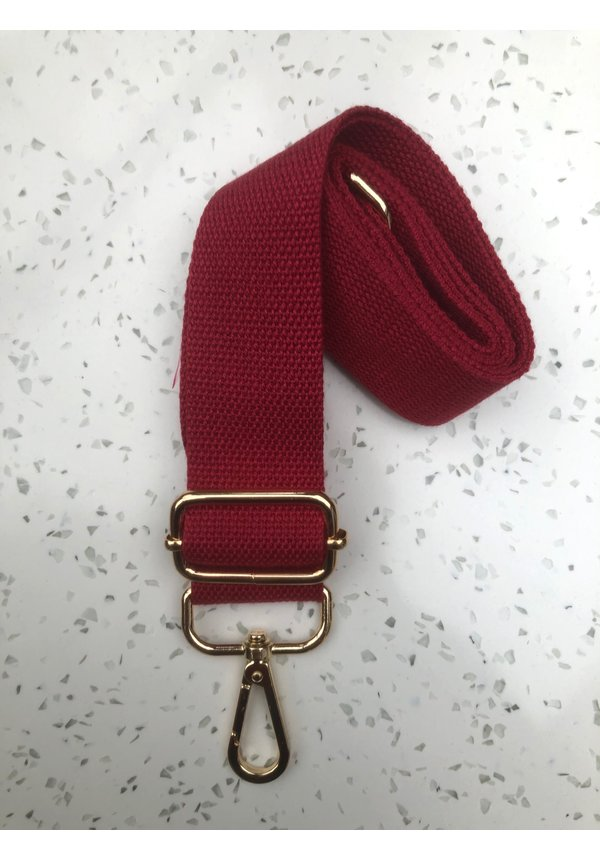 Bag Strap Canvas Red