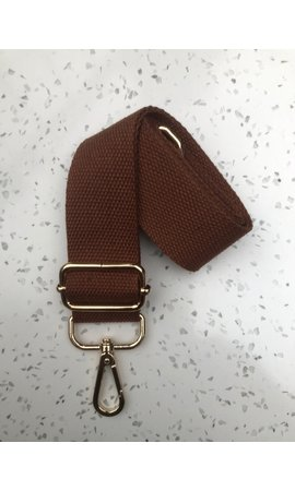 IT BAGS Bag Strap Canvas Brown