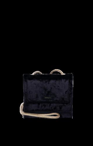 Inyati Éva Minibag Black Velvet