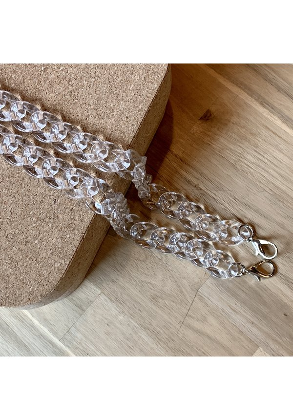 Chain Handle Clear Long