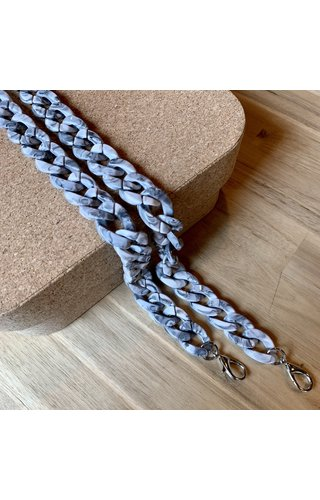 IT BAGS Chain Handle Marble Long