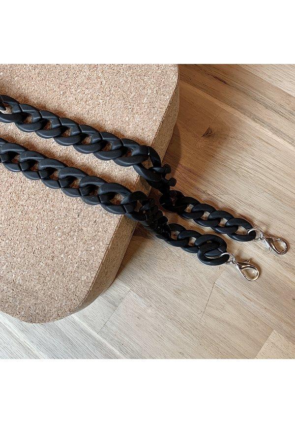 Chain Handle Matt Black Long