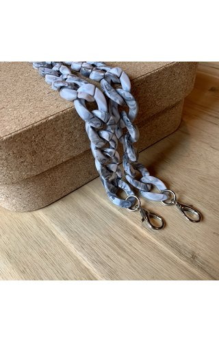 IT BAGS Chain Handle Marble Short
