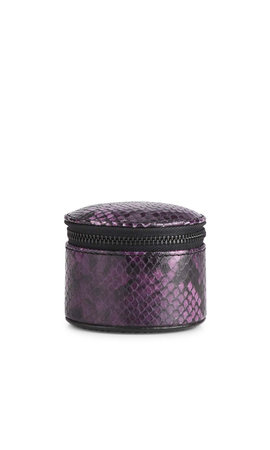 MarkBerg Lova Jewelry Box S Snake Dark Purple