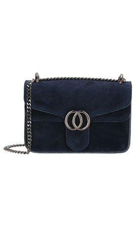 IT BAGS Inspired Dubbel O Bag Blauw
