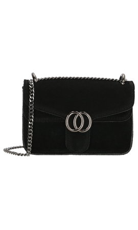 IT BAGS Inspired Dubbel O Bag Zwart