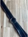 O-Studs Belt Black/Silver