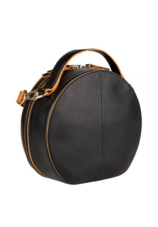 Birthday Citybag Round Zwart