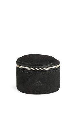 MarkBerg Lova Jewelry Box S Suede Black