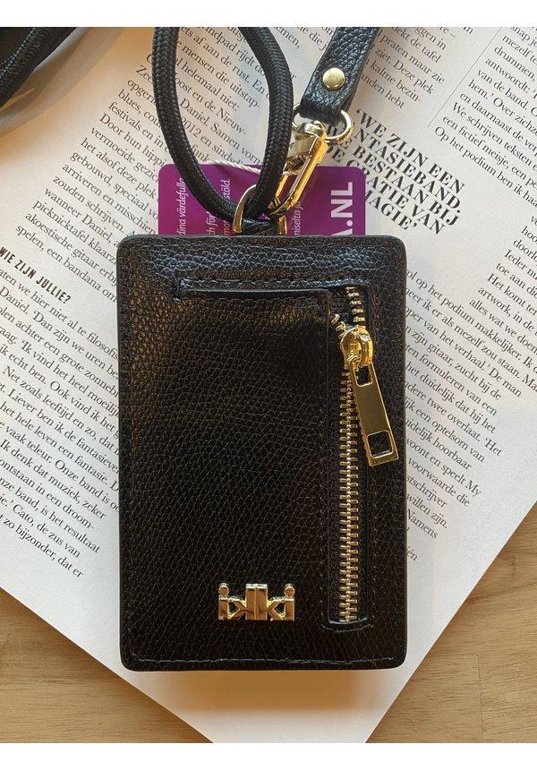 Card Wallet Smooth Black