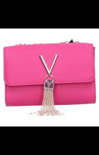 Valentino Handbags Divina Schoudertasje Fuchsia
