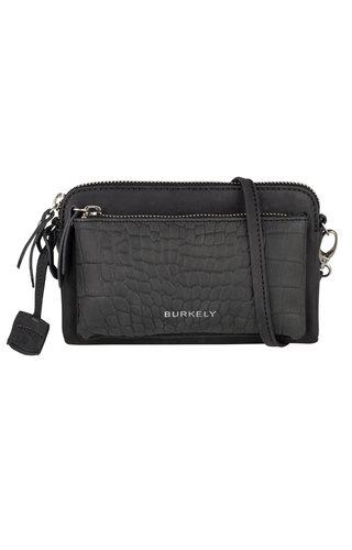 Burkely Croco Cody Minibag Black
