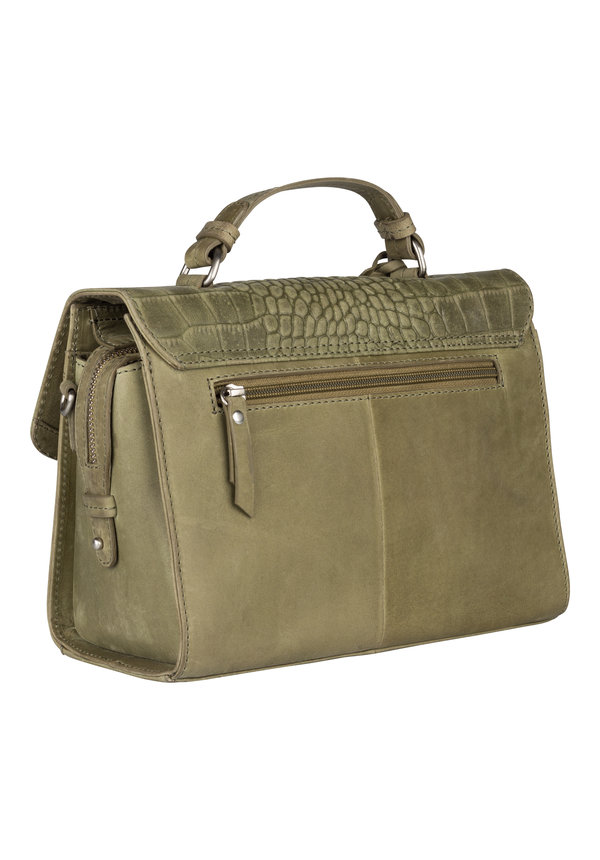 Croco Cody Citybag Light Green
