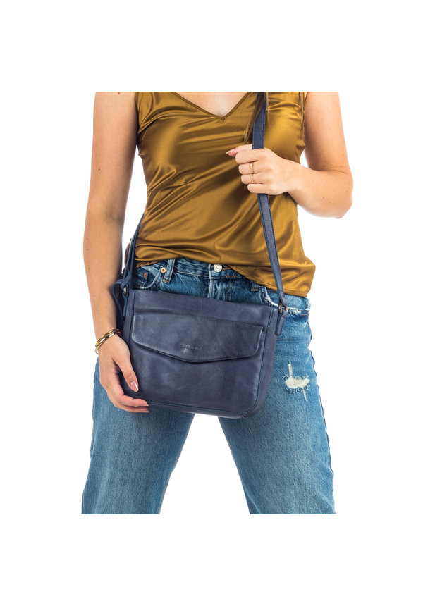 Just Jackie X-Over M Flap Blue