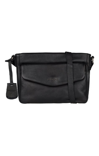 Burkely Just Jackie X-Over M Flap Black