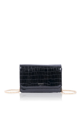 Inyati Lottie Black Croco