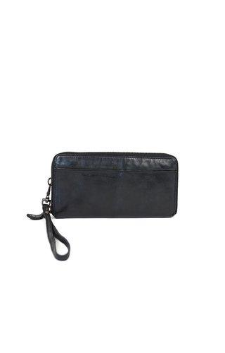BearDesign Rits portemonnee Zwart