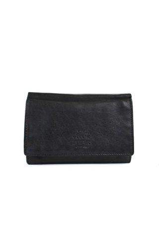 BearDesign Portemonnee middelgroot CL15572 zwart