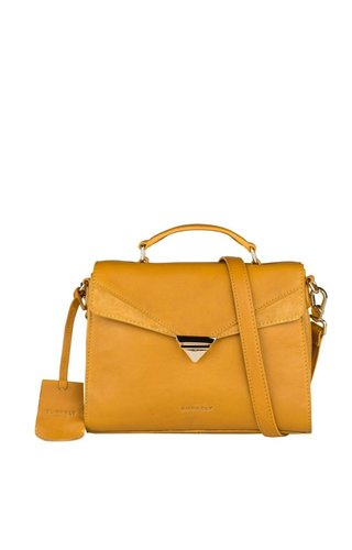 Burkely Secret Sage Citybag Dark Yellow