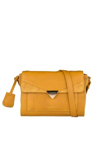 Burkely Secret Sage Crossbody M Dark Yellow