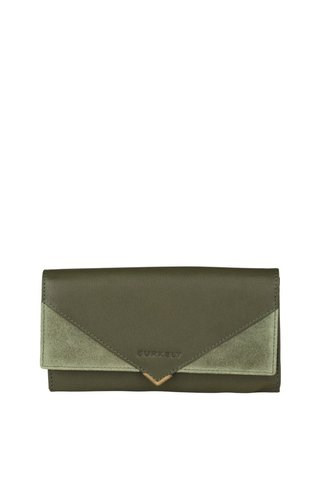 Burkely Secret Sage Wallet L Dark Green