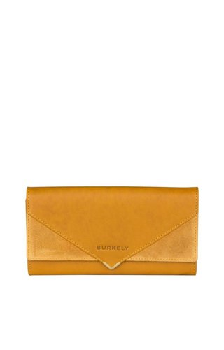 Burkely Secret Sage Wallet L Dark Yellow
