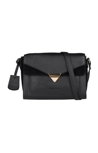Burkely Secret Sage Crossbody M Black
