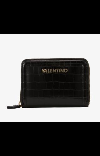 Valentino Handbags Bicorno Zip Around Wallet Zwart