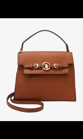 U.S. POLO ASSN. Delaware Top Handle Bag Brown