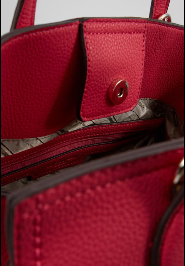 Garner Flap Bag Fuchsia