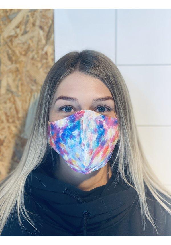 Mondmasker Tie Dye