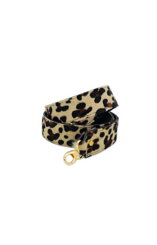 Number Five Long Bagstrap Leopard