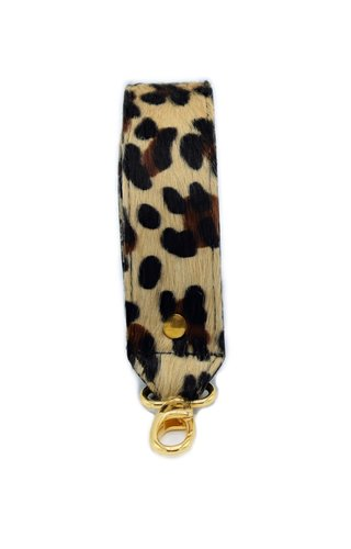 Number Five Short Bagstrap Leopard