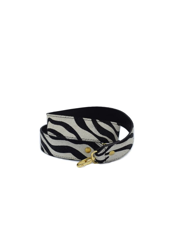 Long Bagstrap zebra/goud