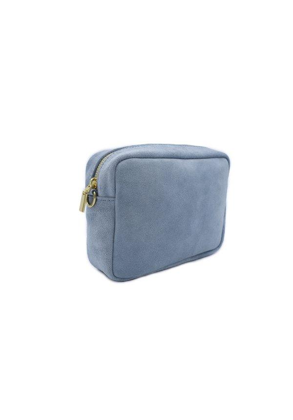 Lot Bag Suède Licht Blauw