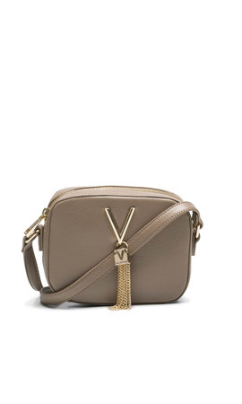 Valentino Handbags Divina schoudertasje box Taupe