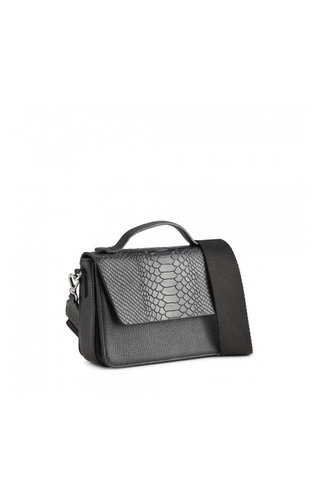 MarkBerg Kamaya Crossbody Bag Snake Black