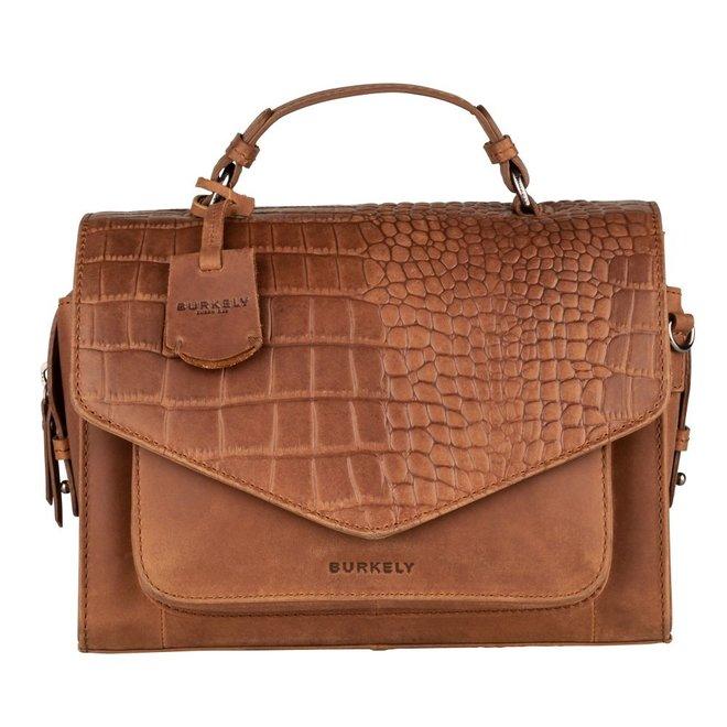 Croco Cody Citybag Cognac