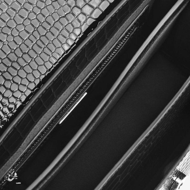 Basel Croco Black