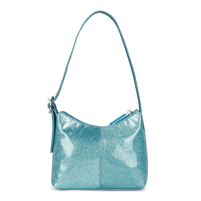 Ulla Handbag Glitter Aqua