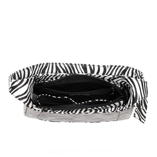 Siri Shoulderbag Zebra