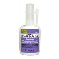 ZAP O Foam Safe CA Odorless secondelijm