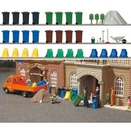 Busch Afvalcontainers set (36 delig)