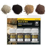 "Vallejo Vallejo Pigment set 5 ""Dust & Dirt"""