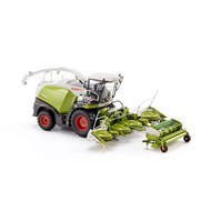 Wiking Claas Jaguar 860 hakselaar met mais & gras pick up (1:32)