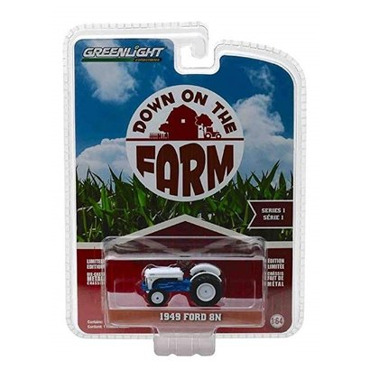 Greenlight Ford 8N tractor - 1949 (1:64)