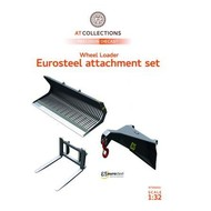 AT Collections Eurosteel toebehoren set shovel 3 delig (1:32)